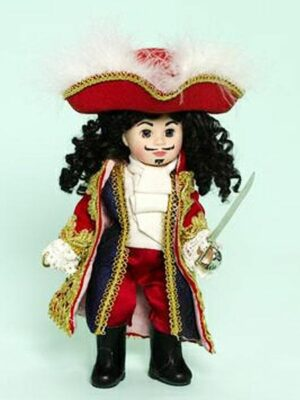 Captain Hook from Peter Pan the Musical by madame alexander