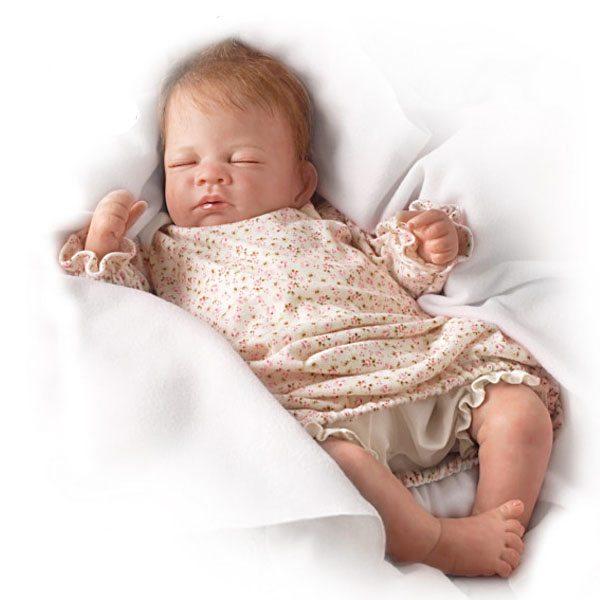 Ashton Drake Sleeping Beauty Doll: Lifelike Breathing Doll